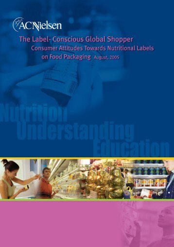Shoppers & labelling Trends'05 4