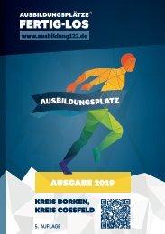 AUSBILDUNGSPLÄTZE - FERTIG - LOS | Kreis Borken, Kreis Coesfeld 2019