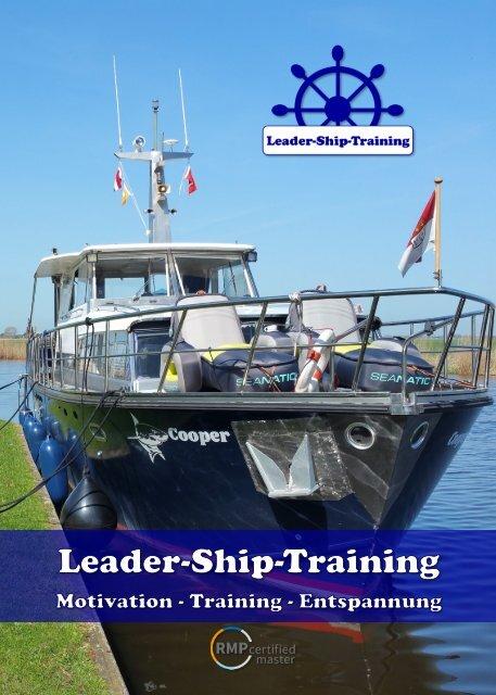 Die neue Leader-Ship-Training Broschüre 2019