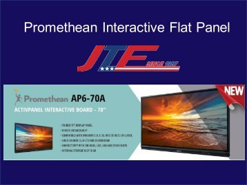 Promethean Interactive Flat Panel