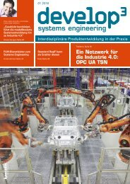 Develop³ Systems Engineering 01.2016
