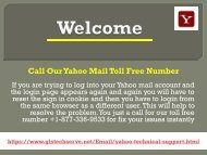 Yahoo Support Number +1-877-336-9533 For USA