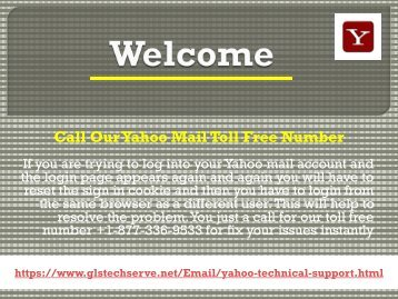 Yahoo Support Number 1877-503-0107 For USA