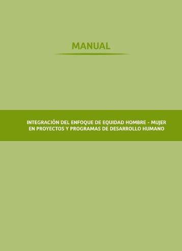 MANUAL DE EQUIDAD HOMBRE - MUJER Cártias pdf
