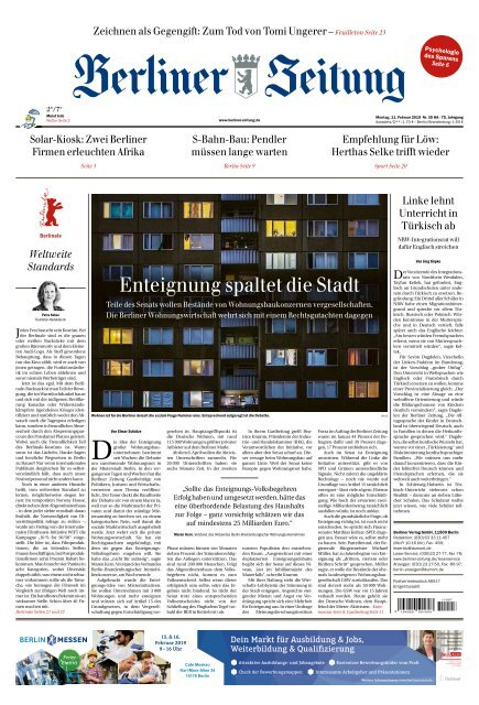 Berliner Zeitung 11022019