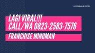 BANYAK DICARI!!!,  CALLWA 0823-2583-7576,  FRANCHISE THAI TEA JAKARTA