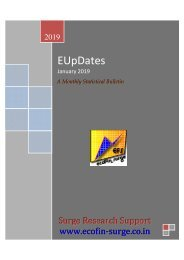 E-UPDates—A Monthly Statistical Bulletin of Economic Indicators