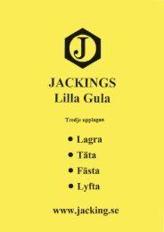 JACKINGS Lilla Gula - Tredje upplagan