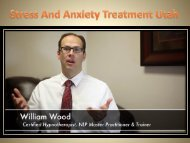 Stress And Anxiety Treatment Utah