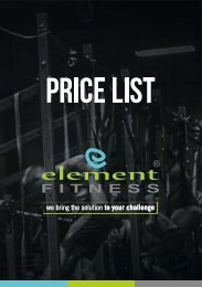 Catalog Element Fitness