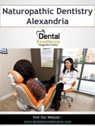 Naturopathic Dentistry Alexandria