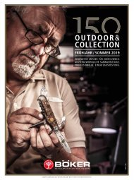 Böker Outdoor und Collection | Frühjahr / Sommer 2019