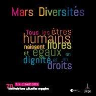 Mars diversites 2019