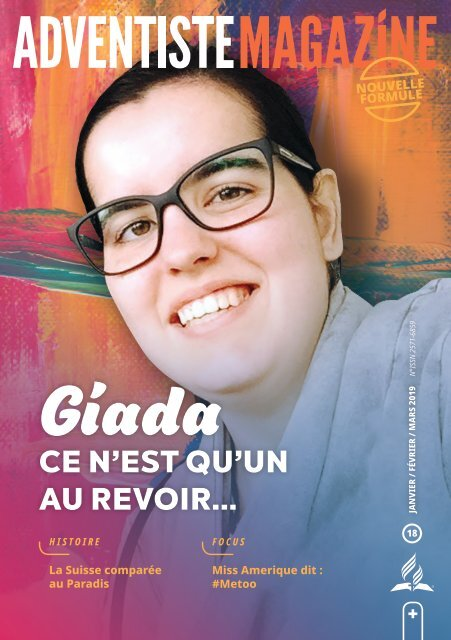Adventiste Magazine 18 - Jan.Fev.Mar.2019 - FR