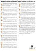Produkthaftungs- und Warnhinweise - Page 2