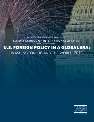 U.S. Foreign Policy Summer Program