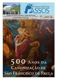 Revista Nossos Passos edição Fevereiro