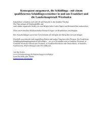 Konsequent ausgemerzt, die Schädlinge - mit einem qualifizierten Schädlingsvernichter in und um Frankfurt und die Landeshauptstadt Wiesbaden