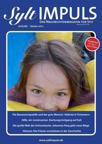 Die Zeit wird nach - SYLTIMPULS | Das Nachrichtenmagazin für Sylt