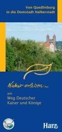 Von Quedlinburg in die Domstadt Halberstadt - Regionalverband ...