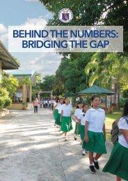 Behind the Numbers: Bridging the Gap