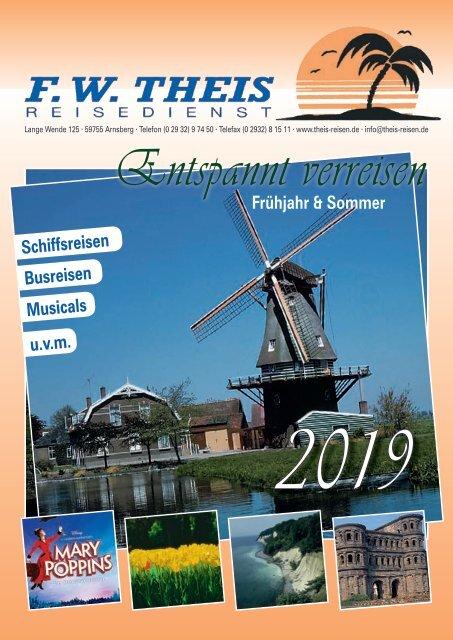 Reisedienst Theis - Frühjahr & Sommer 2019