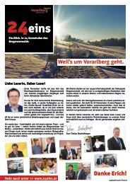 24eins - Erste Ausgabe