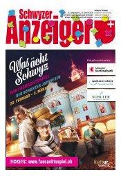 Schwyzer Anzeiger – Woche 7 – 15. Februar 2019