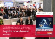 transport logistik in Munich 2019 Mediadata Logistics moves business