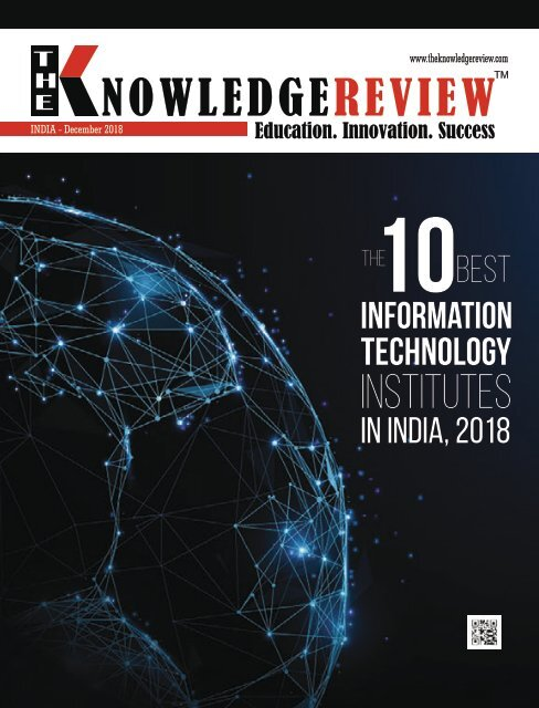 The 10 Best Information Technology Institutes in India, 2018