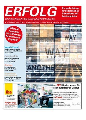 Erfolg_Ausgabe Nr. 2/3 - Feb/Mar 2019