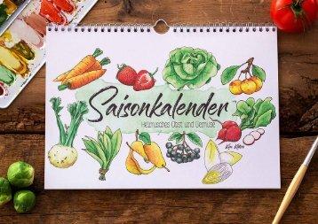 Saisonkalender von IlluBoutique