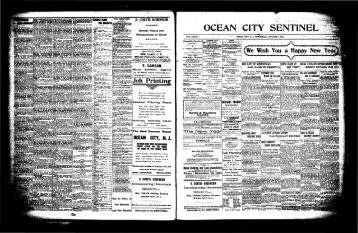 "0te"" Wish' YojTa^ - On-Line Newspaper Archives of Ocean City"