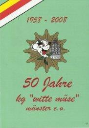 jubilaeumsheft - 50 Jahre Witte Muese