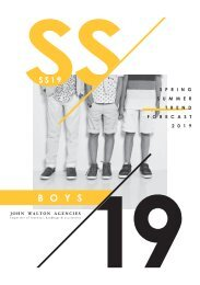 Boys SS19 Footwear - forecast