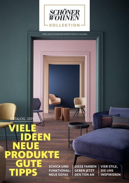 Schöner Wohnen Kollektion Katalog 2019 von Möbel Hämel
