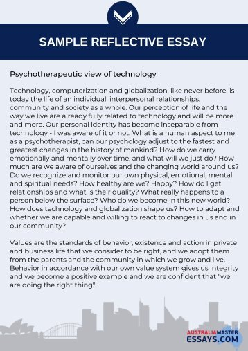 Psychotherapeutic view of technology