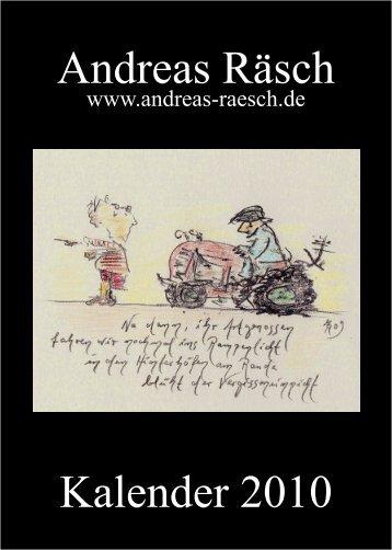 Kalender 2010 - Andreas Raesch