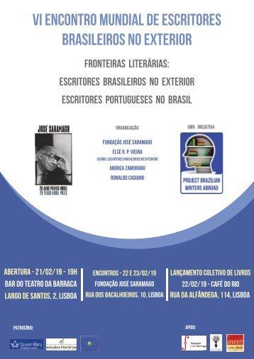 VI Encontro Mundial de Escritores Brasileiros no Exterior