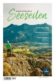 Seeseiten – das Magazin für die Region Tegernsee, Nr. 54, Ausgabe Herbst 2018