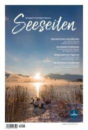 Seeseiten – das Magazin für die Region Tegernsee, Nr. 55, Ausgabe Winter 2018
