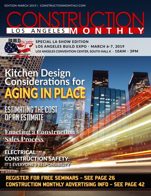 Los Angeles 2019 Construction Monthly