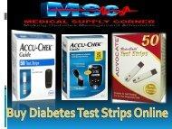Buy Diabetes Test Strips Online