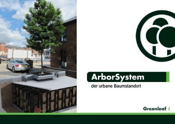 ArborSystem – der urbane Baumstandort