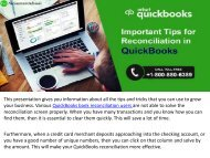 10 Easy QuickBooks Reconciliation Tips from a Specialist