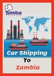 Simba Shipping | Shipping a Car to Zambia