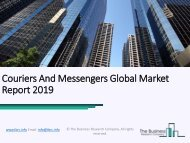 Couriers And Messengers Global Market Report 2019