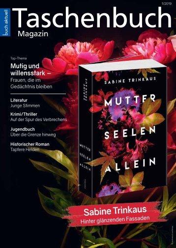 Taschenbuch-Magazin Frühjahr 2019