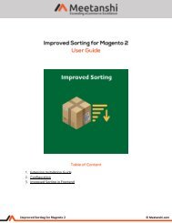 Magento 2 Improved Sorting