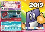 Mr Showbags Brochure 2019
